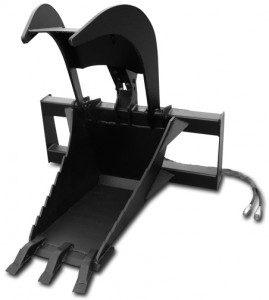 X-treme Skid Steer Stump Grapple