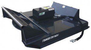 Heavy Duty Skid Steer Brush Cutter Attachment