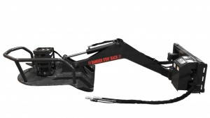 Piston Motor Swing Boom Cutter