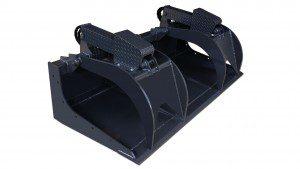 X-treme Skid Steer Grapple Bucket Attachment