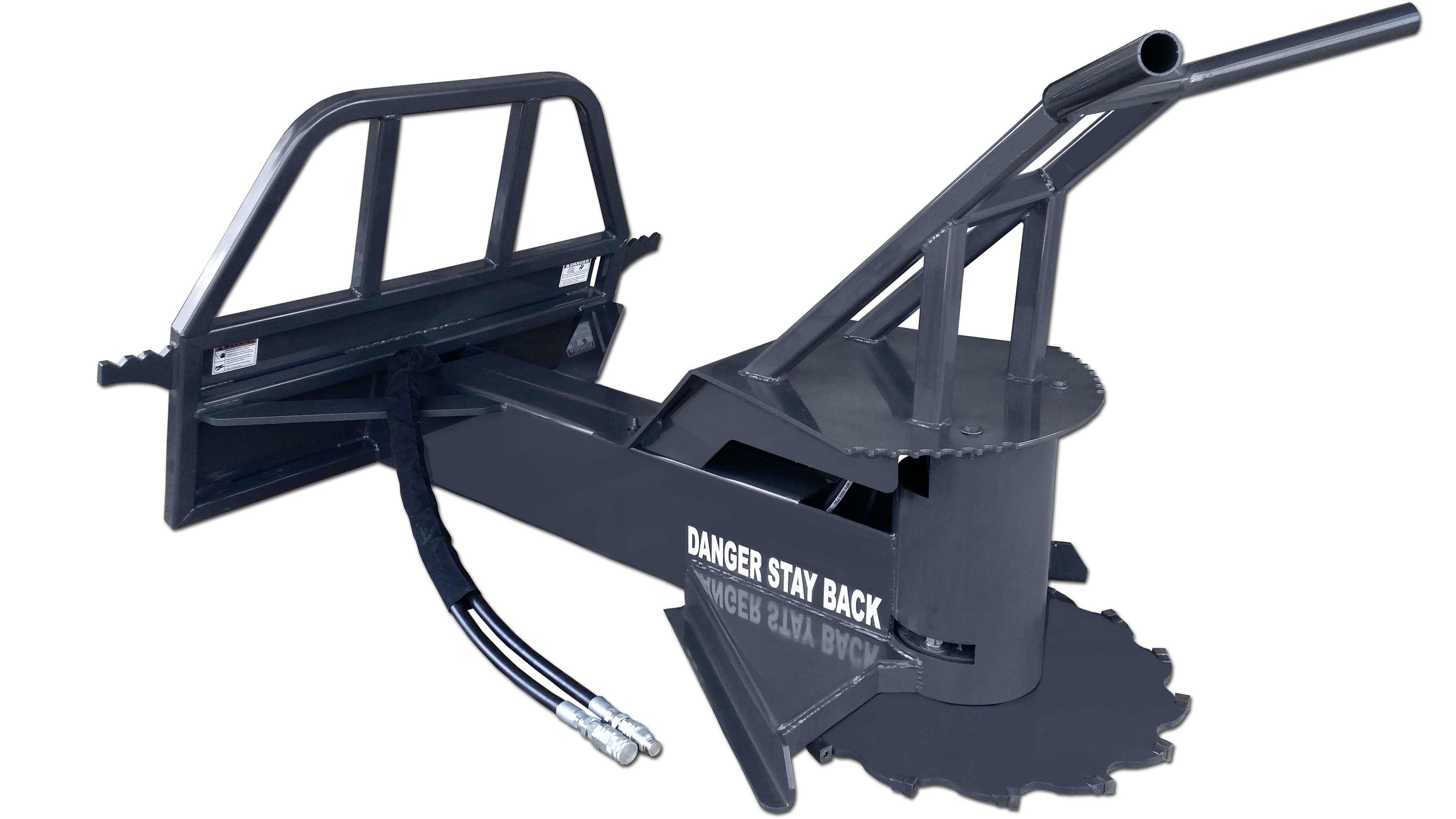 Skid Steer Tree Saw By Cid Attachments