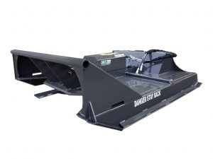 X-Treme Skid Steer Brush Cutter Attachment