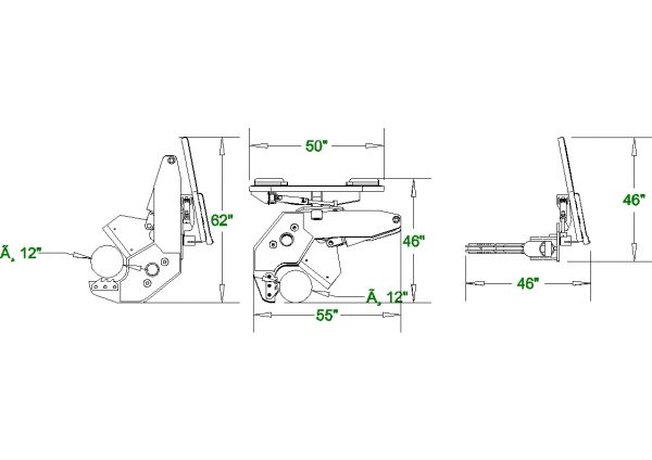 x-treme rotating hydraulic tree shear spec