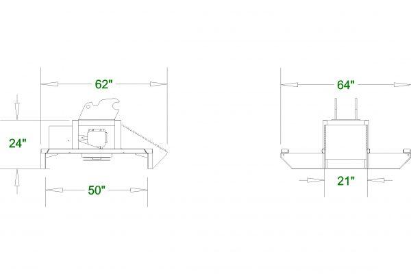 Excavator Brush Cutter - By CID Excavator Attachments
