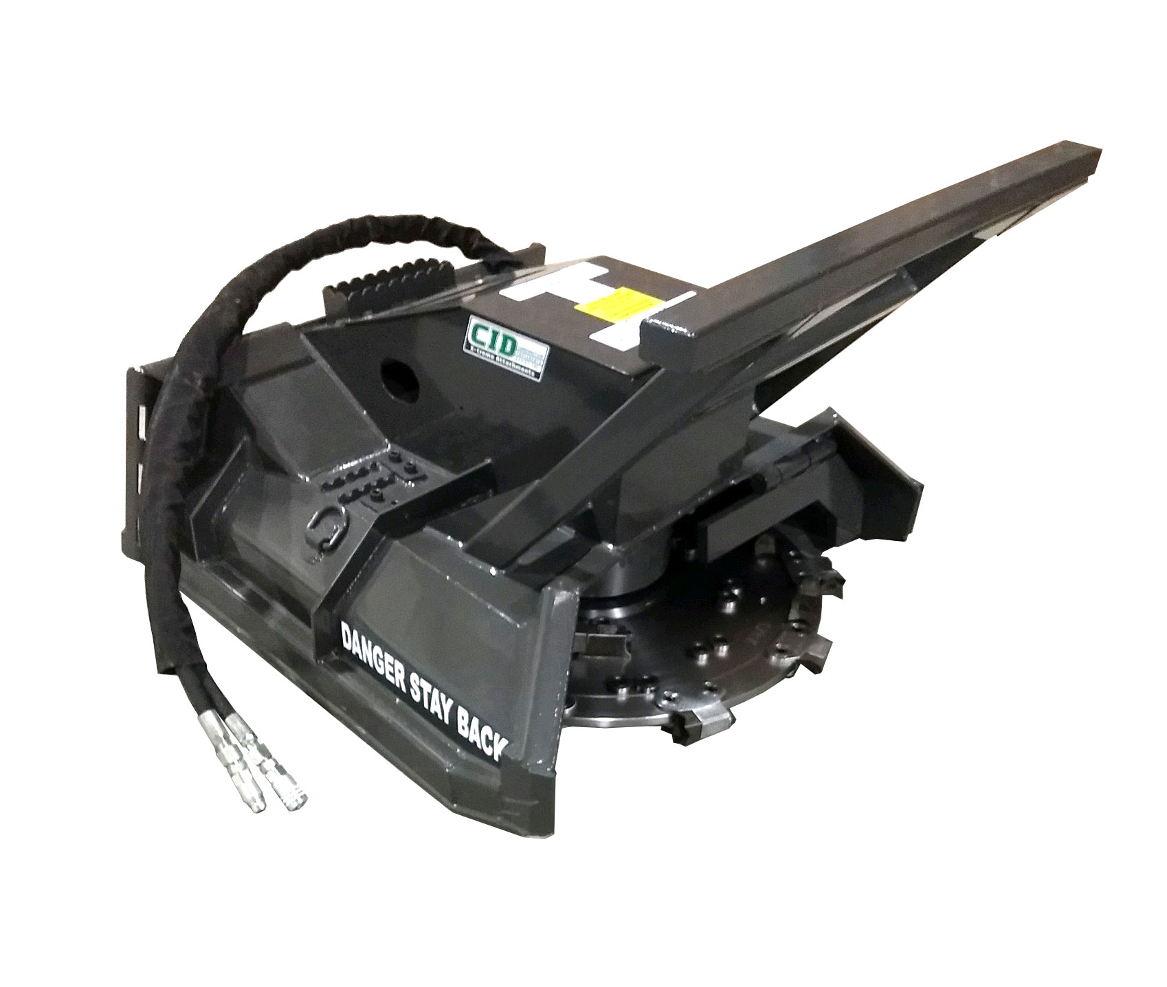 Skid Steer Forestry Disc Mulcher 44 By Cid Attachments